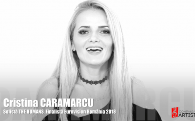 Cristina Caramarcu, Promotia C7 si trupa THE HUMANS – Reprezentantii Romaniei la Eurovision 2018